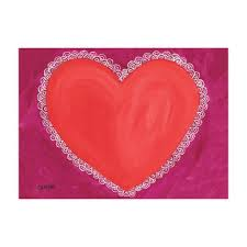 Lace Heart Note Cards