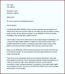 how to write a cease and desist letter for harment images order template defamation of character