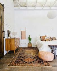Bedroom Inspiration / Wooden Floor, Antique Rug, White Bedding Eyebrow  Makeup Tips. Find This Pin And More On Home Decor By Pinterest.