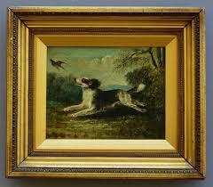 antique oil painting british school