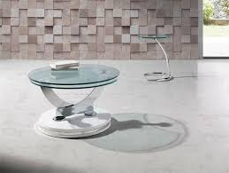 inspiration modern round coffee table