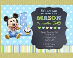 baby mickey mouse invitations birthday baby mickey mouse minnie mouse twin birthday invitation