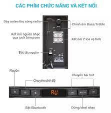 Loa vi tính Fenda T-200X 2.1 bluetooth, USB, thẻ nhớ, ĐKTX