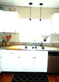 over the kitchen sink pendant light above kitchen sink over the kitchen sink lights for over