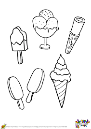 Coloriages gratuits à imprimer avec une variété de thèmes que tutoriels de dessin: Coloriages Glaces Et Esquimaux