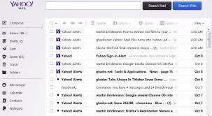 style of text on the new yahoo mail