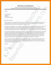 Teachers Cover Letter Example Sarahepps Com