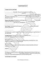 small business plan outline business plan template free simple for small business