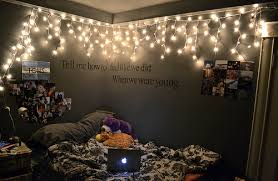 bedroom ideas tumblr christmas lights. Unique Lights Creative Bedroom Ideas Tumblr With Christmas Lights In A