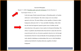 Example of an Entry in an Annotated Bibliography bibliography format