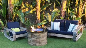 propane or gas burning fire pit