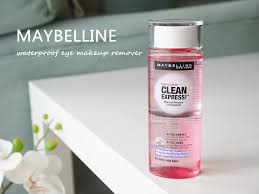 maybelline clean express waterproof eye makeup remover rating 4 3 reviews 6 remended 66