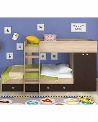 Купить <b>двухъярусная кровать Golden</b> Kids 2 дуб сонома/венге ...