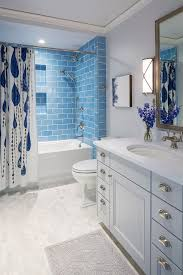 Bathroom With Blue Tiles With Lastest Inspirational In India