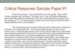 reader response essay examples sample critical response essay