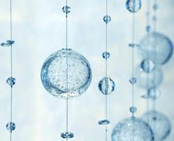 Glass Balls For Decoration Many Hanging Glass Balls For Decoration Stock Photo Image of 30