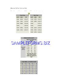 Tire Conversions And Load Ratings Pdf Free 2 Pages