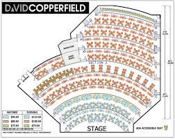 las vegas shows david copperfield seating chart