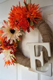 Fall Wreath Diy Easy Fall Wreaths 10 Great Seasonal Decor Ideas
