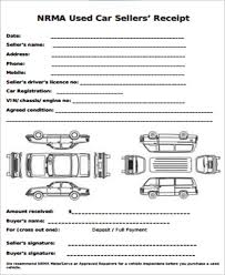 receipt template for car sale car sales receipt sample 13 examples in word pdf