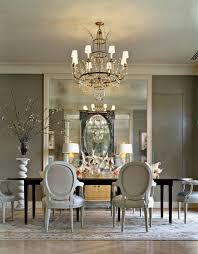 Dining Room:Calm Gray French Country Dining Room With Artistic Wallpaper  Ideas Classy Gray Dining
