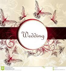 Invitations Card Design For Wedding Invitations Free Graphic
