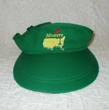 Bud Light Sun Visor Pga The Masters Golf Sun Visor Green Augusta National By