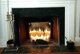 marvellous inspiration fireplace candle insert nice design candles for holder log