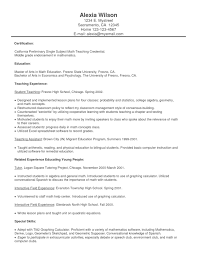 100 Best Resume Format For Teachers 100 Job Resumes