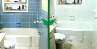 reglaze bathtub diy top bathtub bathtub with subway tile and sprayer refinishing with bathroom tile plan