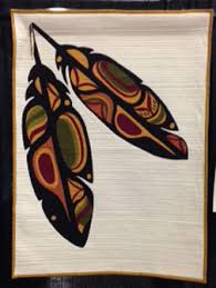 NW Quilting Expo Special Exhibit Honors Native American Art ... & native-american-leaves2 Adamdwight.com