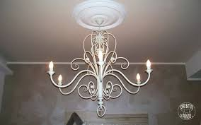 chandeliers antique white wrought iron chandelier wrought iron and crystal white 4 light chandelier pendant