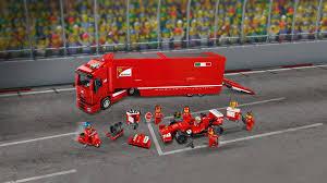 Lego racers 8654 scuderia ferrari truck for more videos please subscribe : F14 T Scuderia Ferrari Truck 75913 Lego Speed Champions Sets Lego Com For Kids