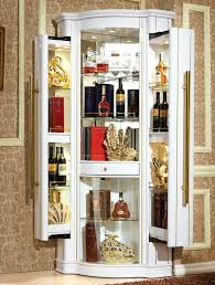 bar glass display cabinet adding display cabinets in kitchen dining