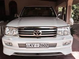 Sri Lanka Jeep Rentals/Hire - Toyota Land Cruiser Prado for Hire