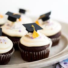 Mini Graduation Caps Cupcake Toppers Diy Graduation Gifts