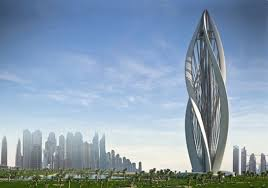 modern architecture. designed to resemble a blossoming flower, greek architecture firm petra architects recently submitted \u201cblossoming dubai\u201d the zaabeel park tall emblem modern