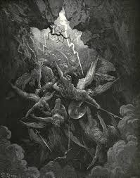 gustav dore s illustrations for john milton s paradise lost  the mouth of hell p 29 click to enlarge