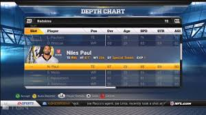 How To Move Up The Depth Chart In Madden 13