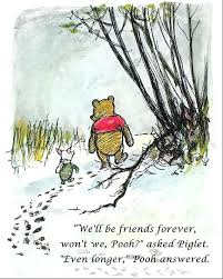 Winnie The Pooh Quote About Friendship Custom Winnie The Pooh Birthday Quotes Famous Prints We Ll Be Friends On