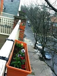 balcony garden boxes planter box flower holder diy raised