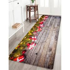 wood gift pattern water absorption area rug