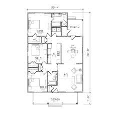 home design single story open floor plans small bungalow