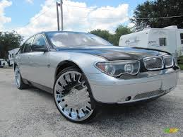 BMW Convertible 745i bmw 2003 : 2003 BMW 7 Series 745i Sedan Custom Wheels Photo #51963989 ...