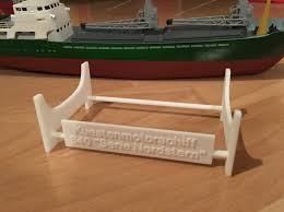 Model Ship Display Stand