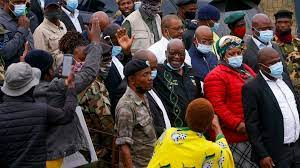 South Africa police await new court ...