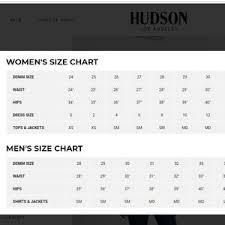 Hudson Size Chart Hudson Bootcut Jeans Size 27