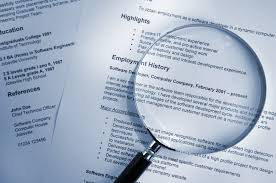 resume tips for stay at home moms and dads magnifying glass on resume