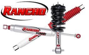 Rancho Shocks At Summit Racing