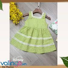 Đầm xòe cổ vuông bé gái CÔNG TY TNHH THỜI TRANG TRẺ EM VALINGO